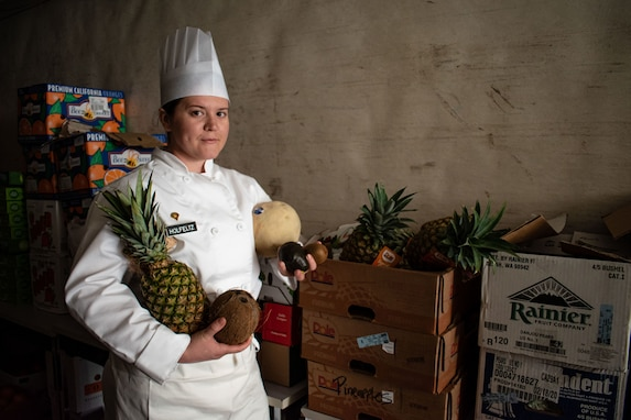 Army Reserve Soldier cooks for holistic readiness