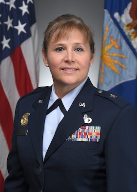This is the Official Portrait of Brig Gen Leslie Beavers