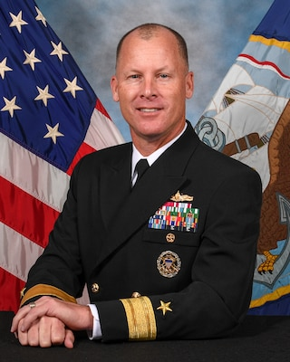 REAR ADMIRAL CHRISTOPHER M. ENGDAHL President, Board of Inspection and Survey