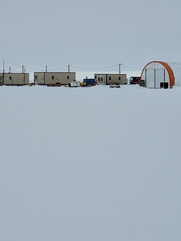 Buildings at the McMurdo Station where Maj. Esther Lee, a chaplain, worked and lived for two months, supporting the National Science Foundations efforts, Antarctica