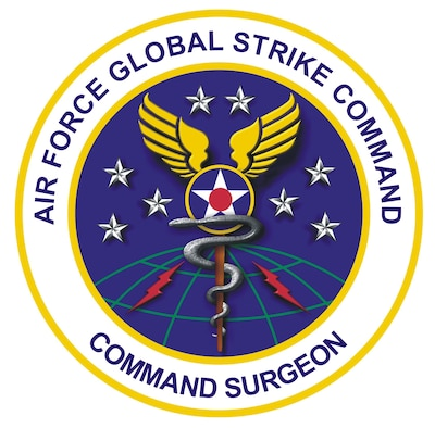 Patch of the AFGSC Command Surgeon