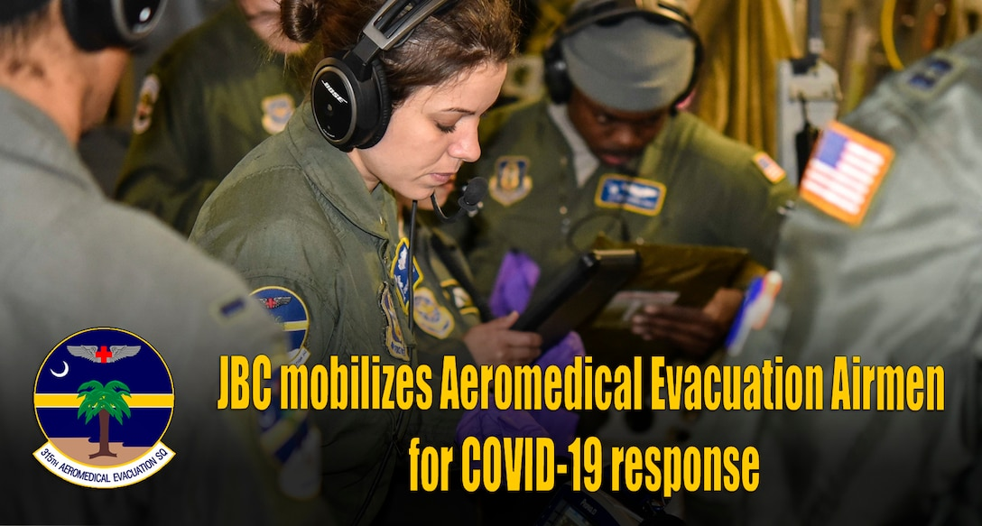 Charleston mobilizes Aeromedical Evacuation Airmen for COVID-19 response