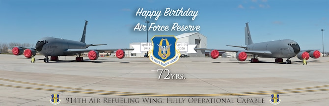 Niagara celebrates Air Force Reserve 72nd Birthday