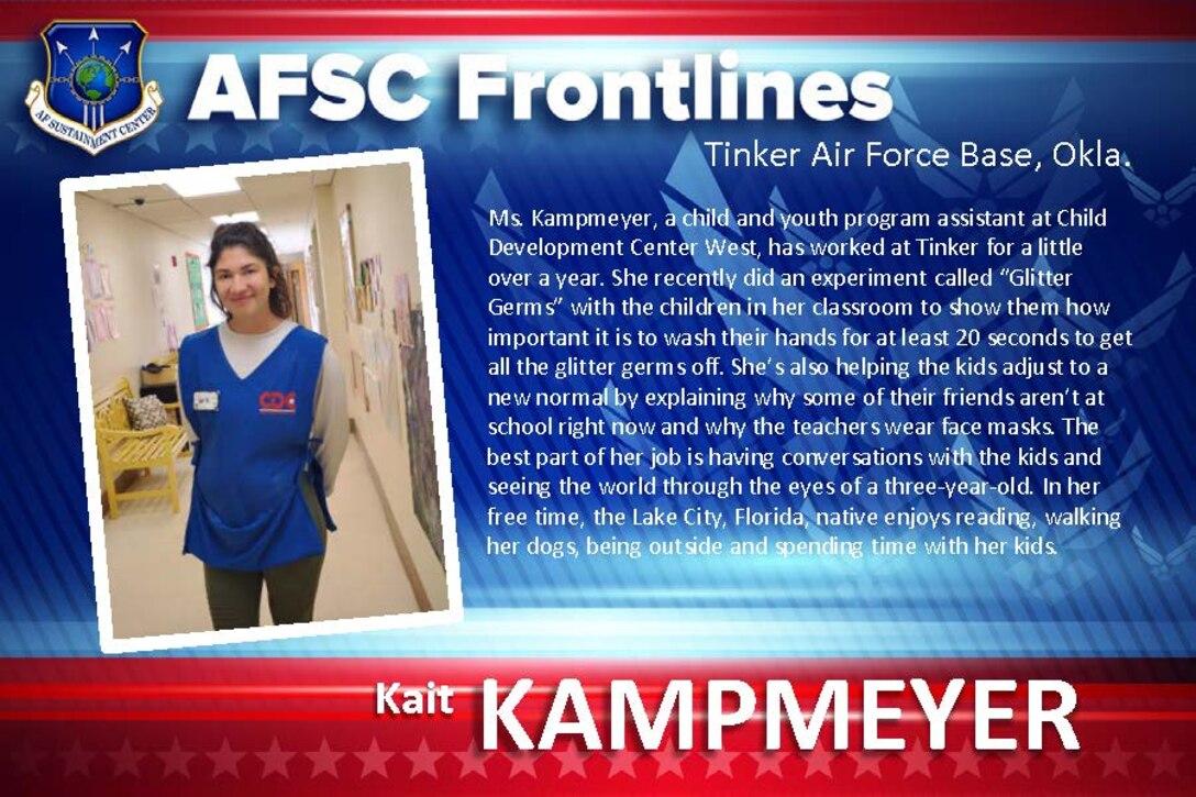 AFSC Spotlight: Meet Kait Kampmeyer
