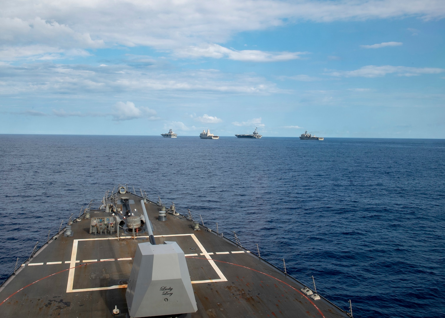USS Mustin Remains Mission Ready During COVID-19