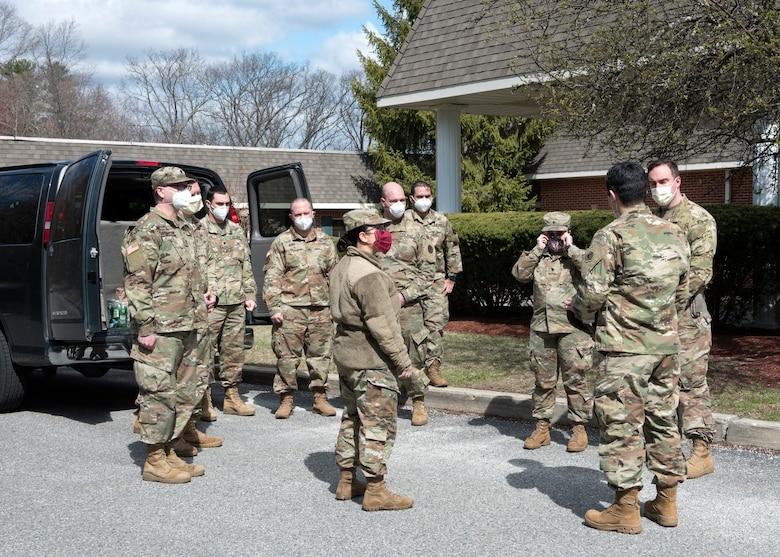 National Guard mobile COVID-19 testing team