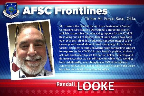 AFSC Spotlight: Meet Randall Looke