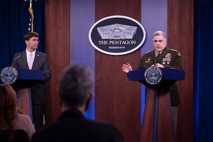 DOD Continues Global Military Operations Even as It Battles COVID-19