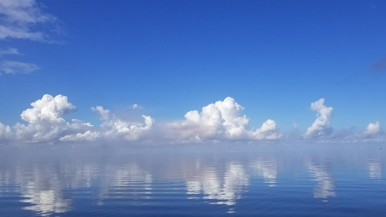 Afternoon clouds on Lake Okeechobee
