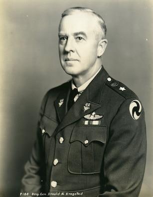 Brig Gen Arnold N. Krogstad official photo