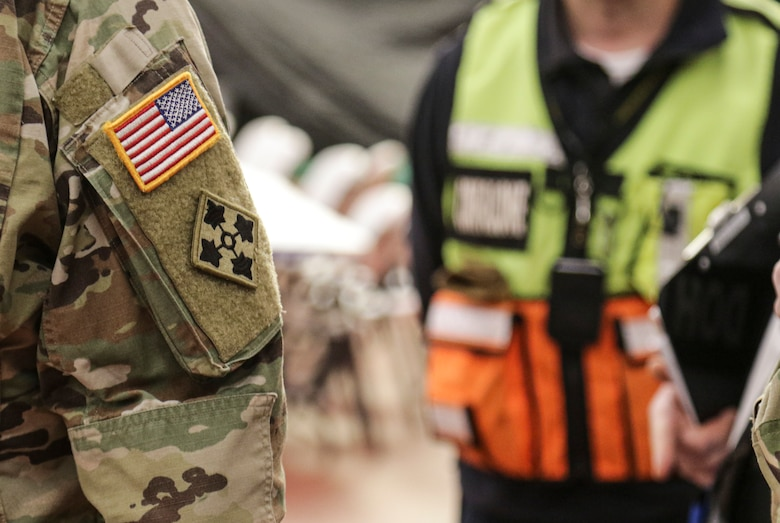 Task Force-Southeast provides defense support on behalf of Department of Defense