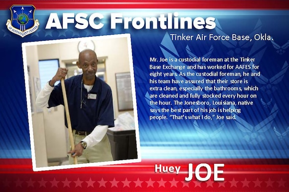 AFSC Spotlight: Meet Huey Joe