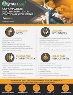 Coronavirus: Healthy Habits for Emotional Well-Being