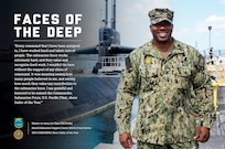 PEARL HARBOR, Hawaii (April 15, 2020) – Master-at-Arms 1st Class Will Finley, from Chicago, Illinois, assigned to Naval Submarine Support Center (NSSC) Pearl Harbor, was announced as the 2019 Commander, Submarine Force, U.S. Pacific Fleet (COMSUBPAC) Shore Sailor of the Year via Naval message, April 1. (U.S. Navy Illustration by Chief Mass Communication Specialist Amanda R. Gray/Released)