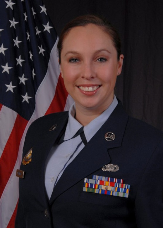 Master Sgt. Heather Cekovsky is the formal schools manager and the Non-Commissioned Officer in Charge of the student flight at the 104th Fighter Wing. She has been guiding both programs through this time of change.   (Courtesy photos)