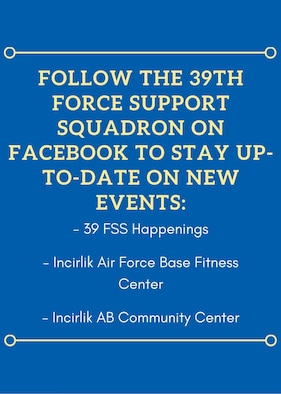 Graphic displaying 39th Force Support Squadron social media info