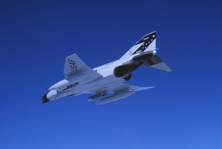 The F-4D with tail number 65-608 (pictured), has been on display at the Duluth International Airport for several years and is a reminder to the important role it played in the wing's history.