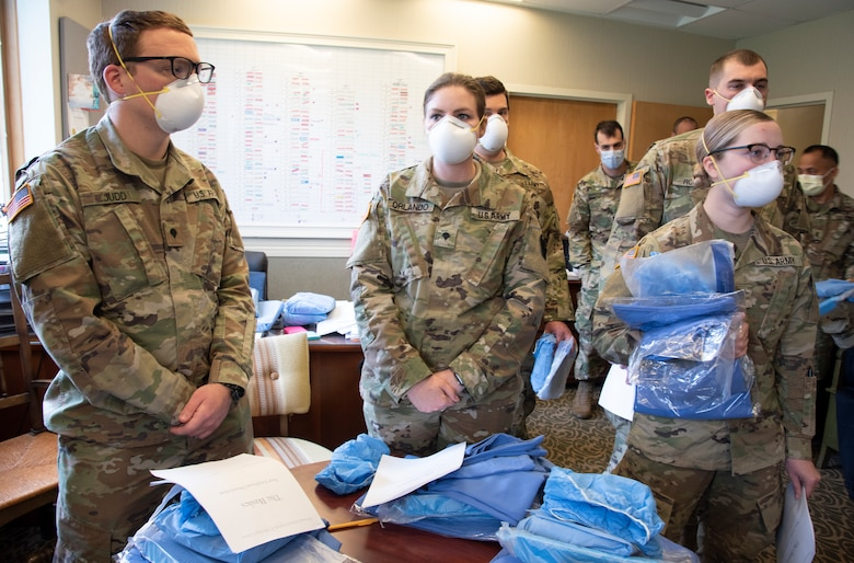 The Pennsylvania National Guard deployed a Joint Force Medical Strike Team to assist at a rehab and nursing home in Delaware County starting April 18.