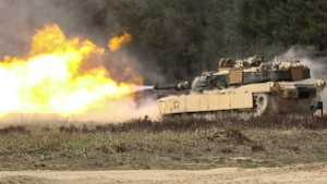 3rd Infantry Division Tank Gunnery in Poland