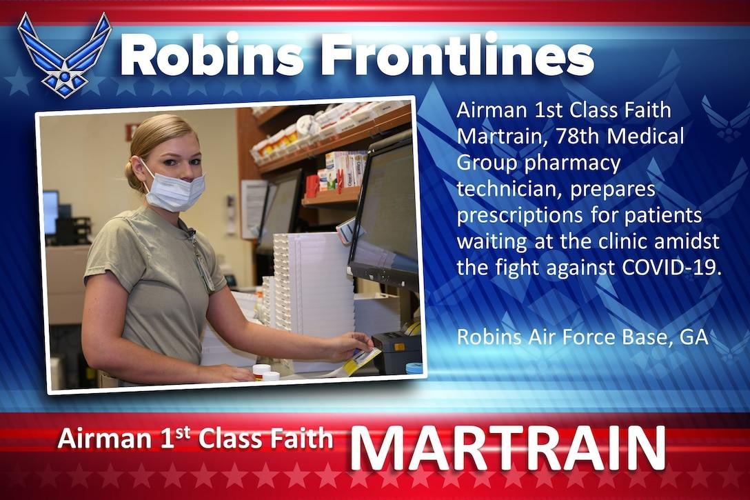 Robins Frontlines: Airman 1st Class Faith Martrain