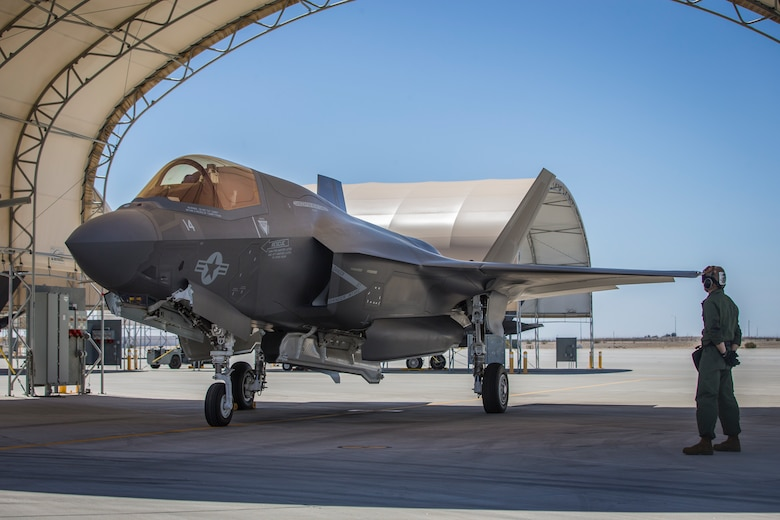 """Sharpening the """"First to Fight"""" Force: 3rd MAW Delivers Pristine, Combat-Ready F-35Bs to 1st MAW"""