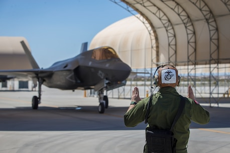 "Sharpening the ""First to Fight"" Force: 3rd MAW Delivers Pristine, Combat-Ready F-35Bs to 1st MAW"