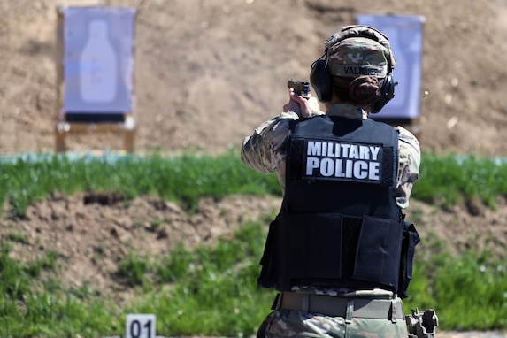 KFOR RC-E TF MP Soldiers qualify at range
