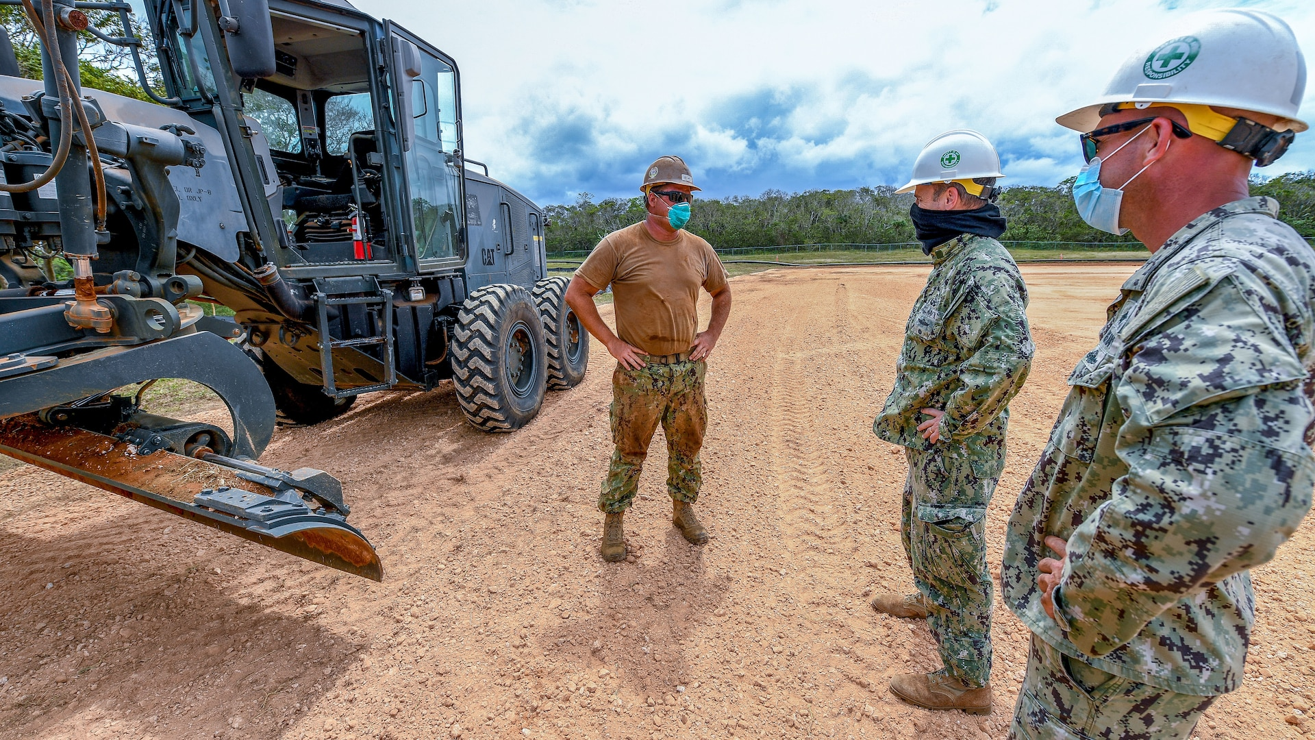 Expeditionary Medical Facility Constructed at U.S. Naval Hospital Guam