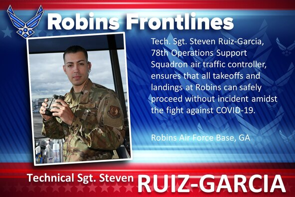 Robins Frontlines: Tech. Sgt. Steven Ruiz-Garcia