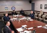 Senior leaders are briefed on Coronavirus.