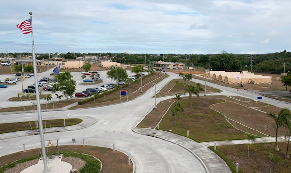 Expeditionary Medical Facility Constructed at U.S. Naval Hospital Guam