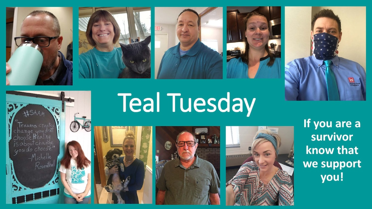 LRD remains committed to eliminating sexual assault from its formations and continually implements measures to build a climate that respects and protects the dignity of every team member. #TealTuesday helps raise public awareness about sexual harassment, assault, and abuse and educate communities on how to prevent it.