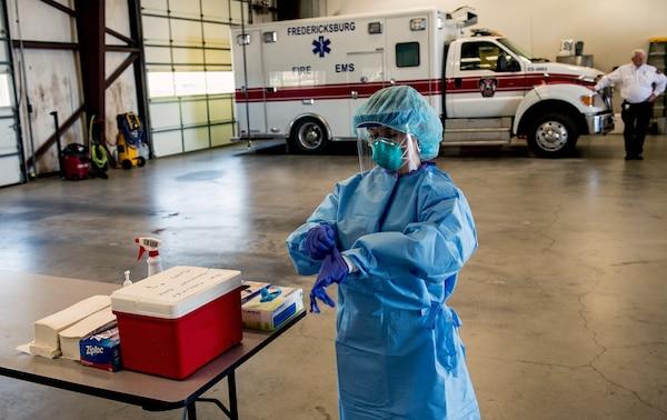 Texas National Guard medic