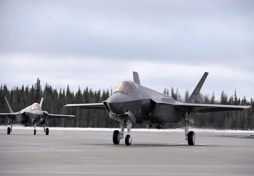 Eielson welcomes F-35A Lightning II