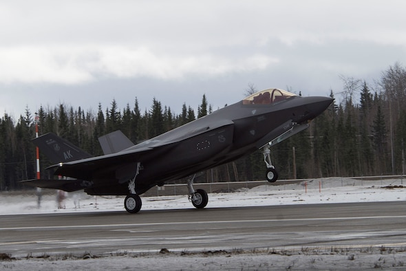 Eielson welcomes F-35A Lightning II