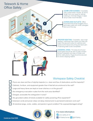 Home Office Safety infographic