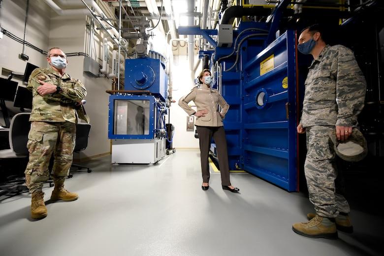 Barrett at centrifuge