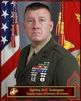 Sergeant Major Michael F Sodergren