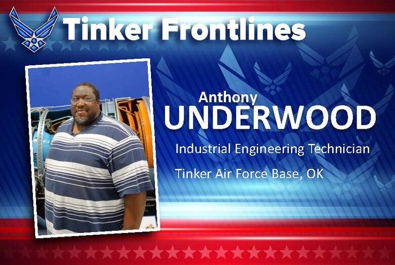 Tinker Frontlines: Meet Anthony Underwood