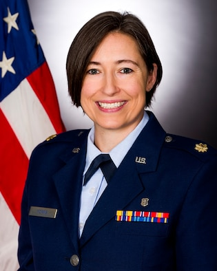 Dr. (Maj.) Heather L. Morris, Office of Special Investigations Insider Threat Investigative Psychologist, is now the only Certified Threat Manager in OSI and the Department of the Air Force, following her successful completion of  the exam administered by the Association of Threat Assessment Professionals. (U.S. Air Force photo)