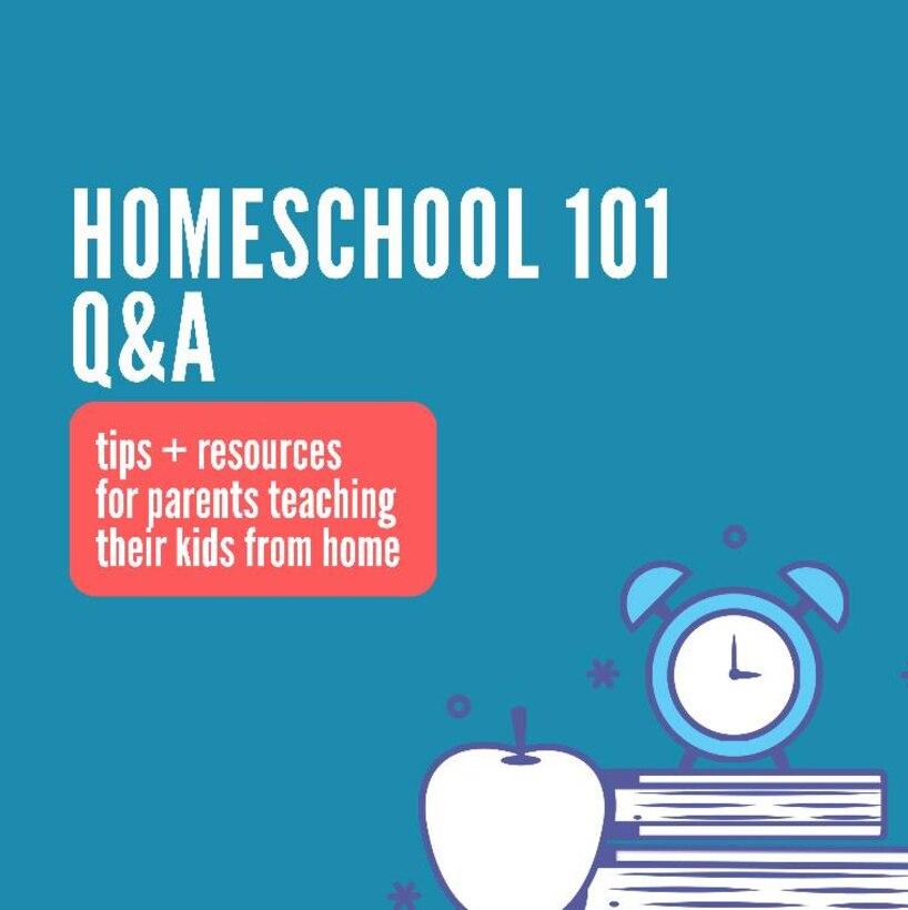 Homeschool 101 Facebook live event follow up Q&A