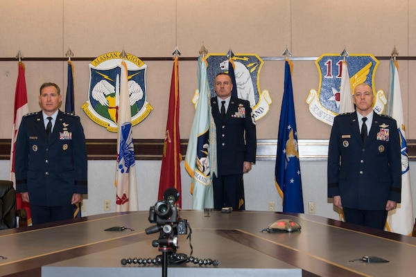 Alaskan Norad Command Region, Alaskan Command, and Eleventh Air Force Welcomes New Commander