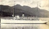 A photograph of the Revenue & Coast Guard Cutter UNALGA, no date.