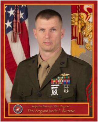 Inspector Instructor First Sergeant, Co. D, 4th Light Armored Reconnaissance Battalion
