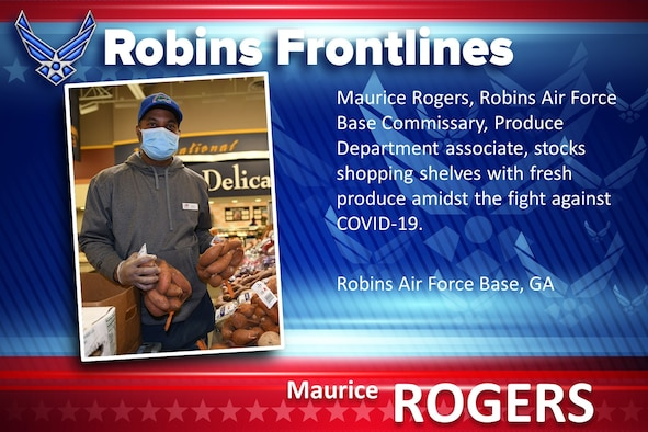 Robins Frontlines: Maurice Rogers