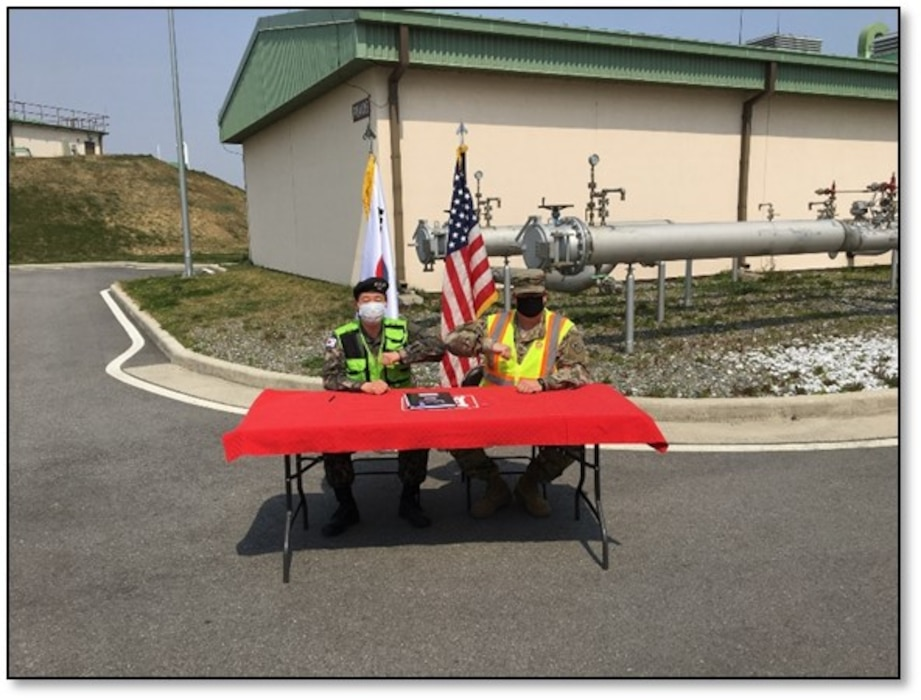 Completion of Phase I Fuel Oil Facility, improves USFK warfighter capabilities
