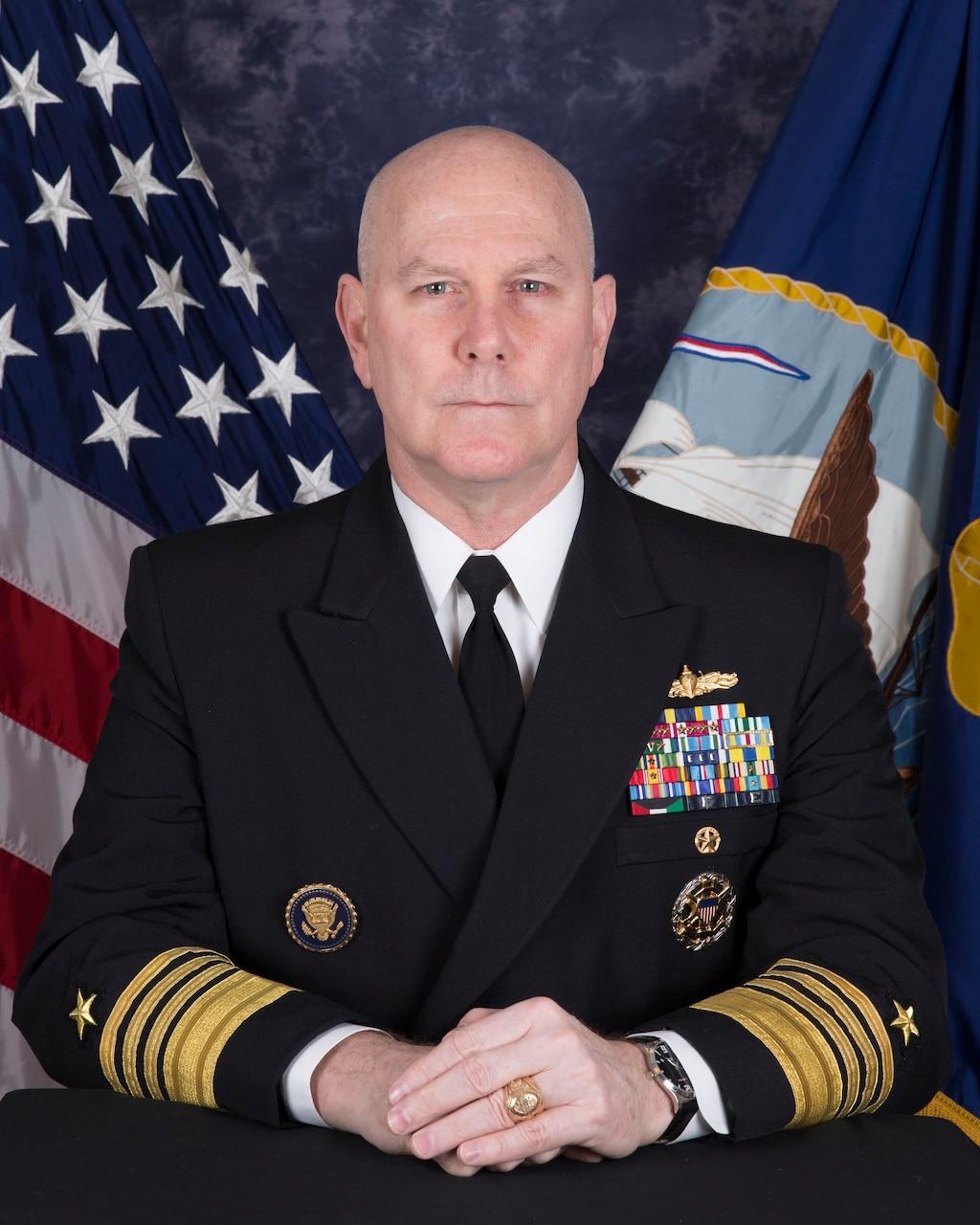 Adm. Christopher W. Grady Portrait