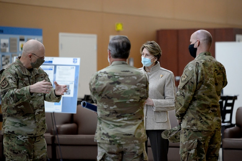 SECAF meets with AFMC