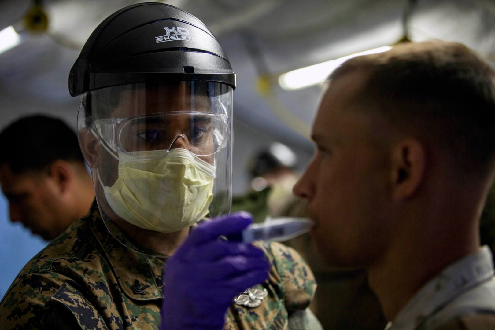 DOD Starts Tiered COVID-19 Testing Process to Ensure Safety