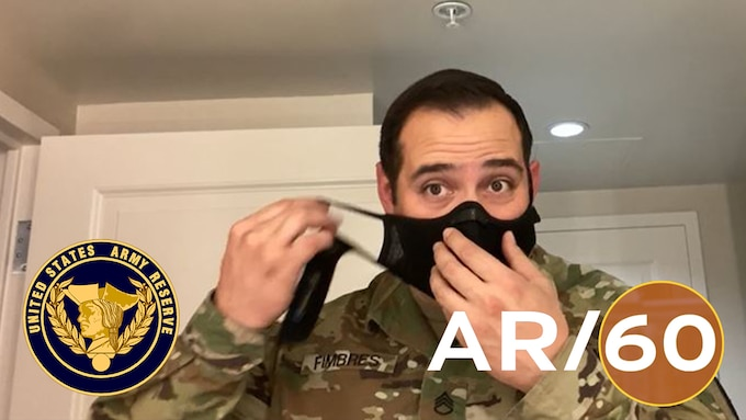 On this episode of AR/60: 1. Army Reserve Soldiers with Urban Augmentation Medical Task Forces are providing medical relief in response to COVID-19; 2. Guidance for washing your hands and what to do when touching surfaces in public spaces; 3. Wear cloth face coverings in public where 6 feet of social distance isn't possible.